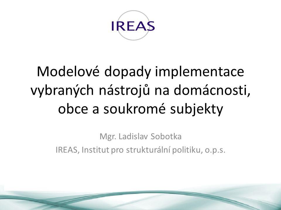 IREAS, Institut pro strukturální politiku, o.p.s.
