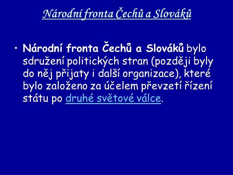Národní fronta Čechů a Slováků