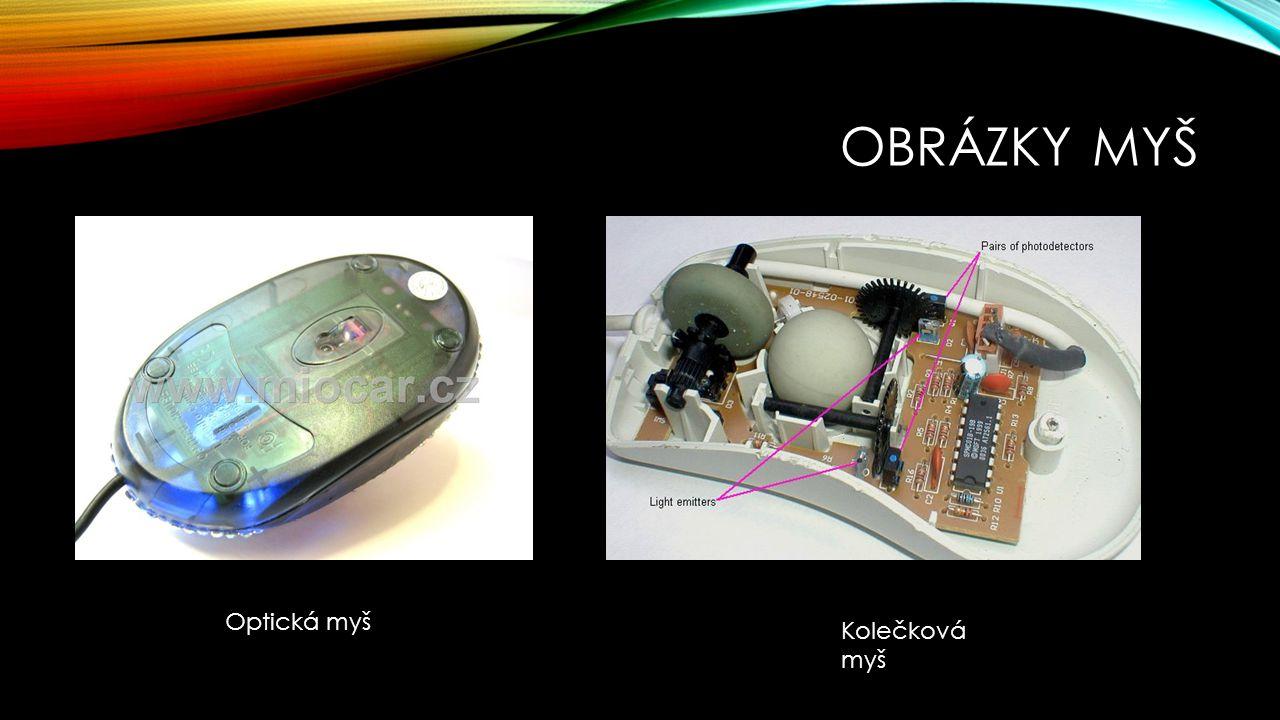 Obrázky myš Optická myš Kolečková myš