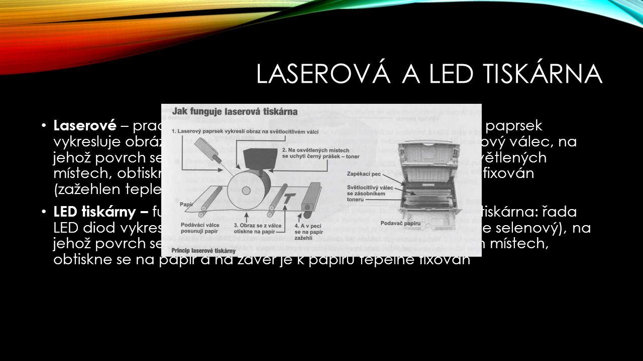 Laserová a led tiskárna