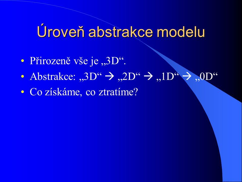 Úroveň abstrakce modelu