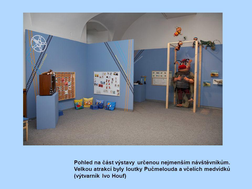 Pohled na část výstavy určenou nejmenším návštěvníkům.