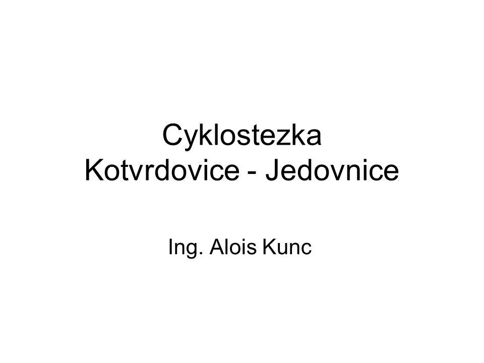 Cyklostezka Kotvrdovice - Jedovnice
