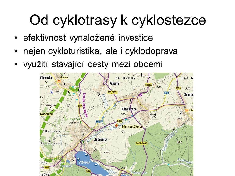 Od cyklotrasy k cyklostezce