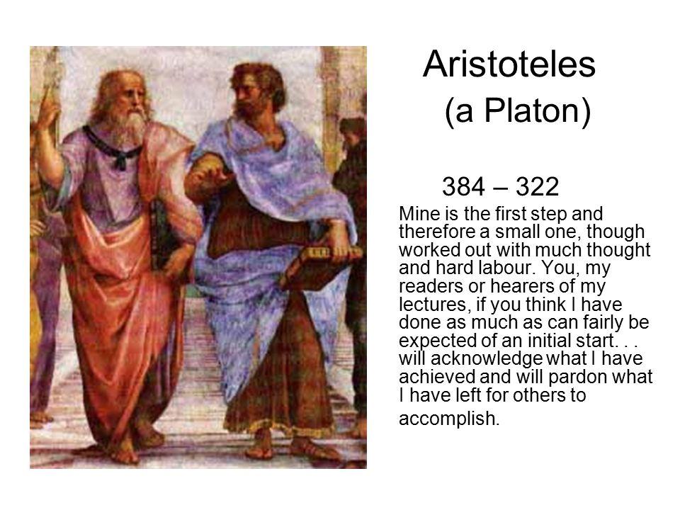 Aristoteles (a Platon)