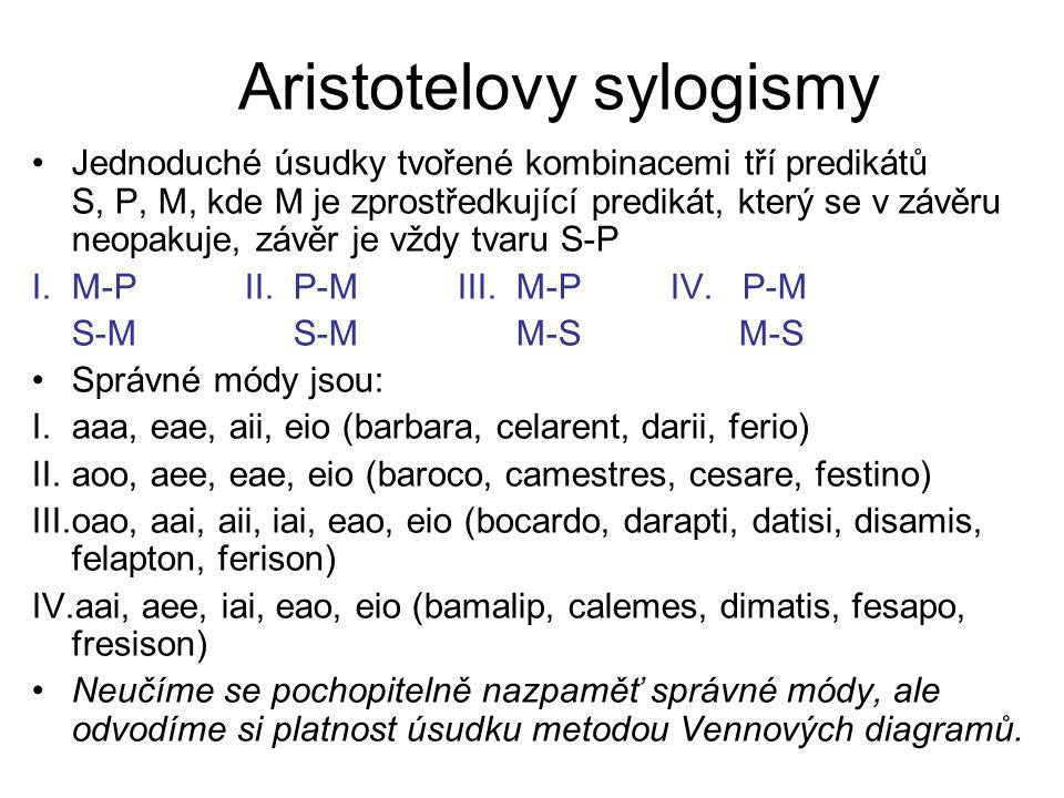 Aristotelovy sylogismy