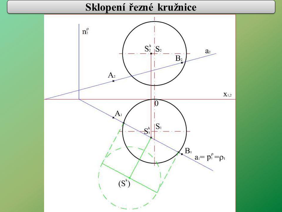 Sklopení řezné kružnice