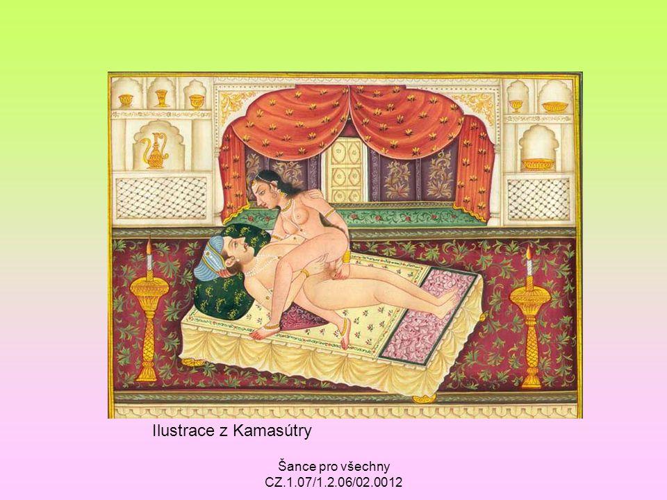 Ilustrace z Kamasútry Šance pro všechny CZ.1.07/1.2.06/02.0012