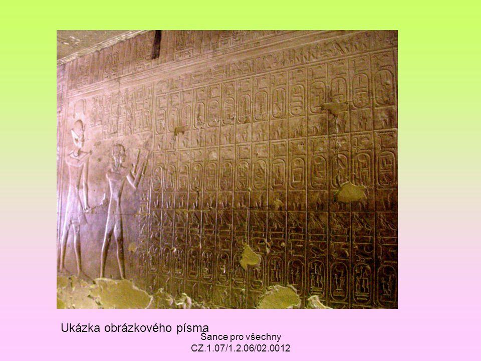 Ukázka obrázkového písma