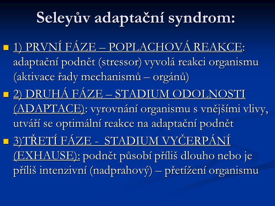 Seleyův adaptační syndrom:
