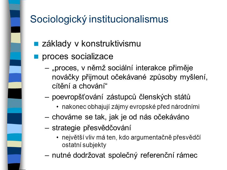 Sociologický institucionalismus
