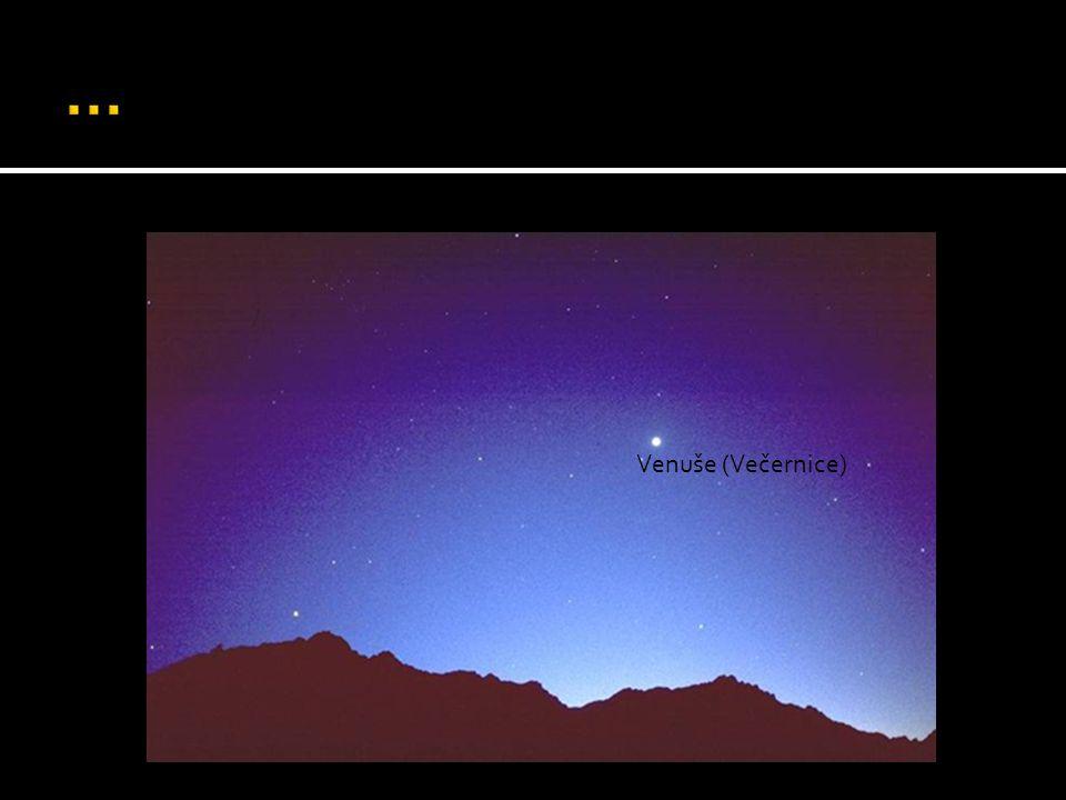 … Venuše (Večernice)