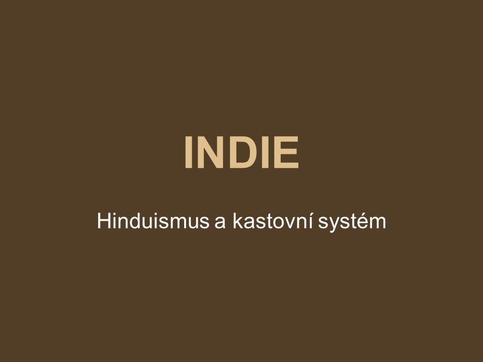 Hinduismus a kastovní systém