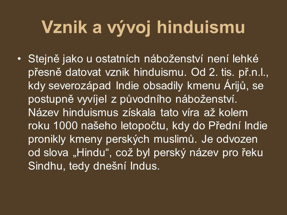 Vznik a vývoj hinduismu
