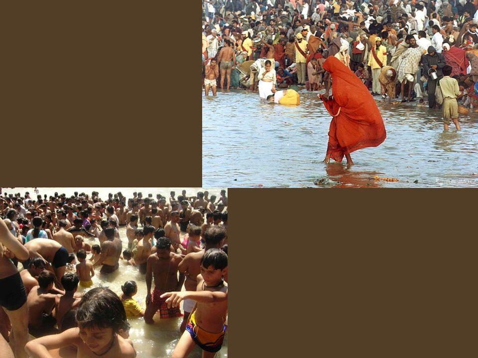 Posvátná řeka Ganga