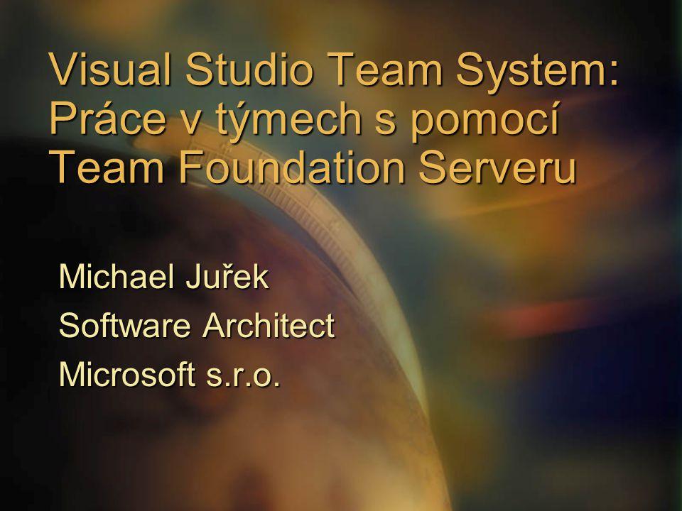 Michael Juřek Software Architect Microsoft s.r.o.