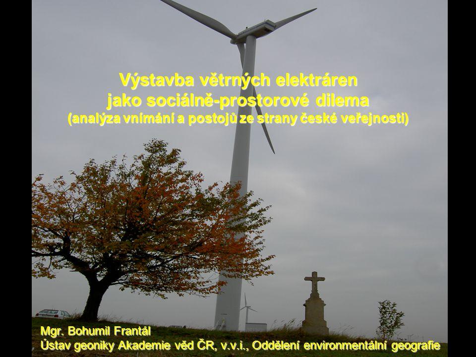 Výstavba větrných elektráren