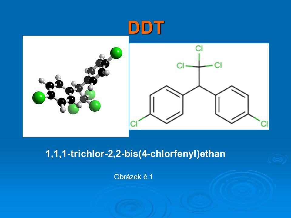 DDT 1,1,1-trichlor-2,2-bis(4-chlorfenyl)ethan Obrázek č.1