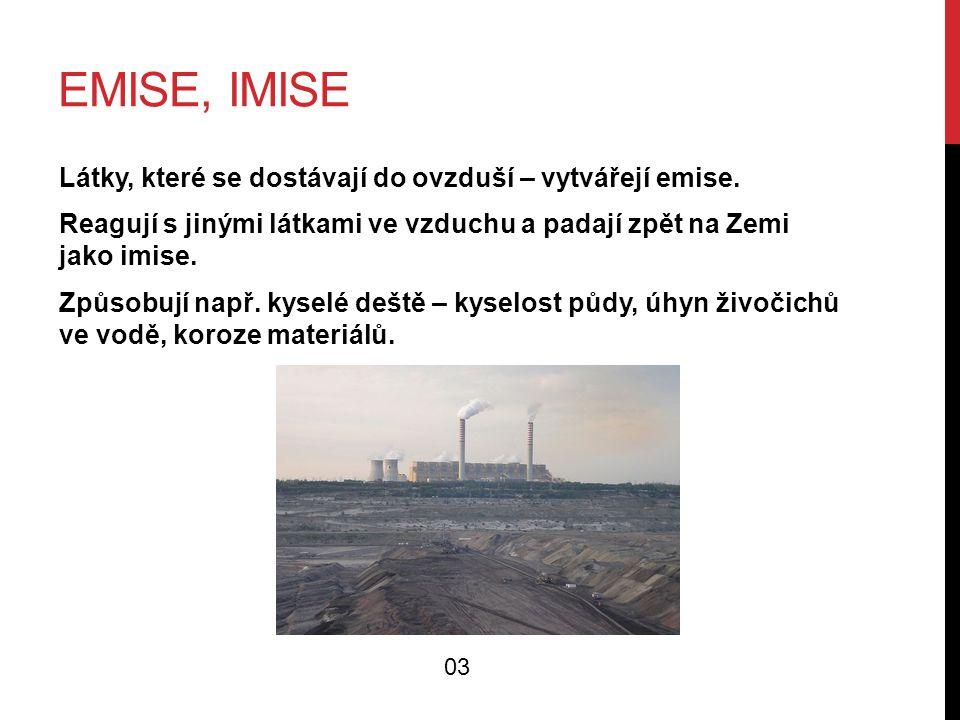 Emise, imise