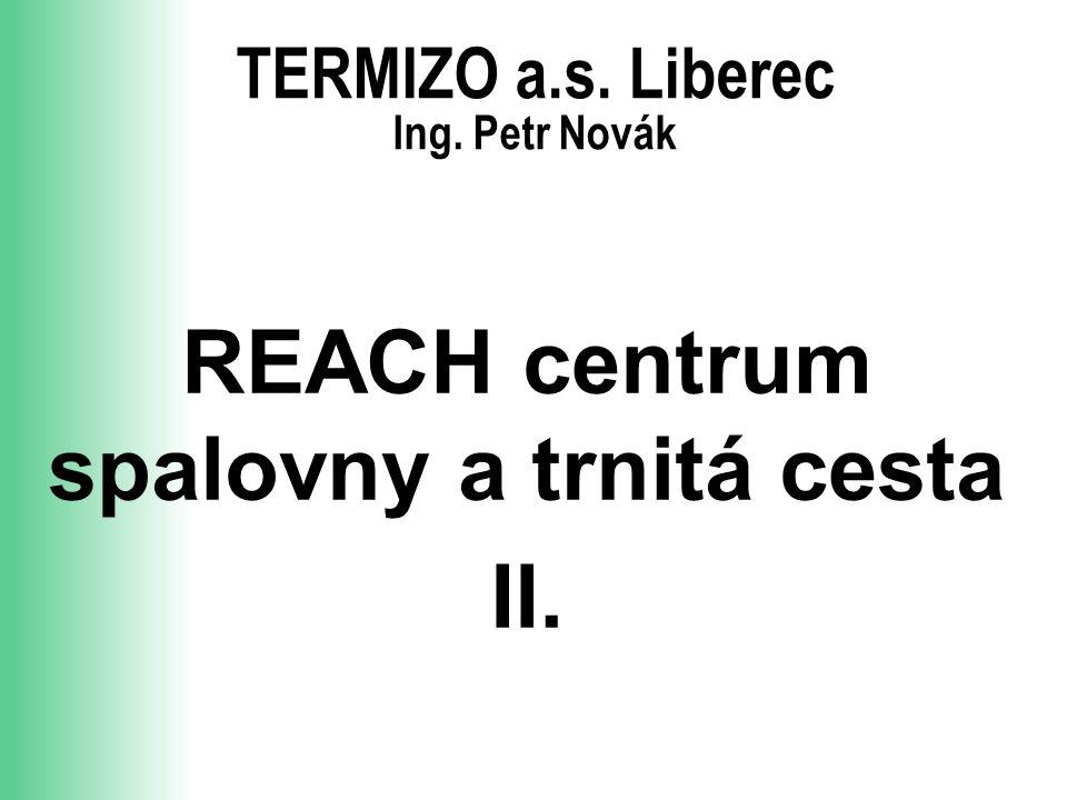 TERMIZO a.s. Liberec Ing. Petr Novák