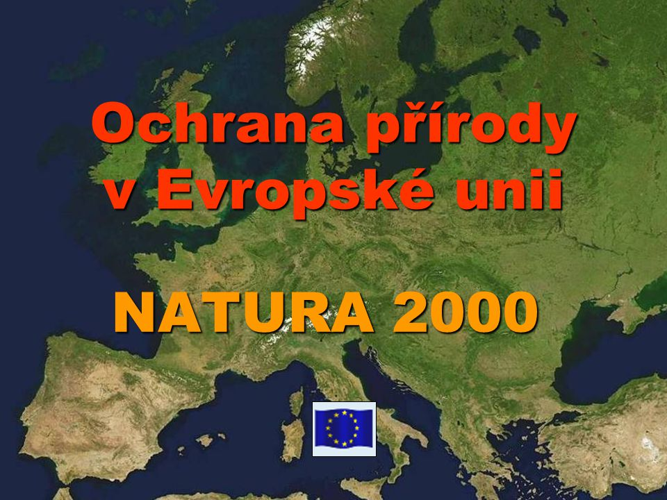 Ochrana přírody v Evropské unii