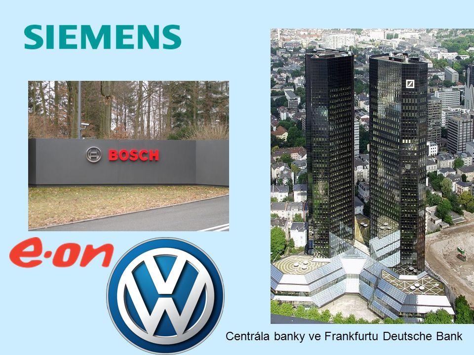 Centrála banky ve Frankfurtu