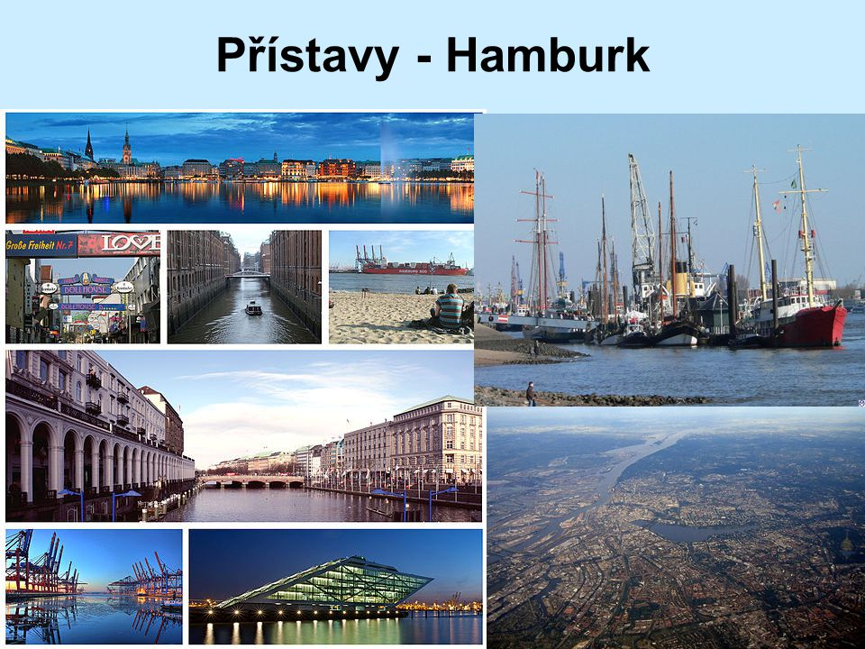 Přístavy - Hamburk