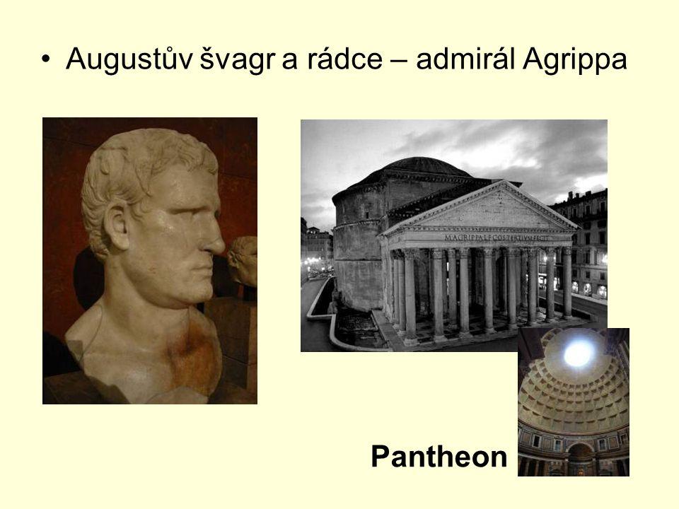 Augustův švagr a rádce – admirál Agrippa