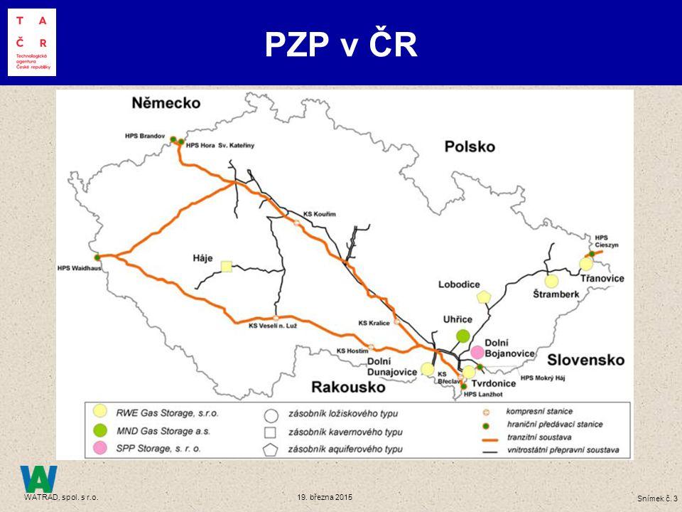 Skladovací kapacity PZP v ČR