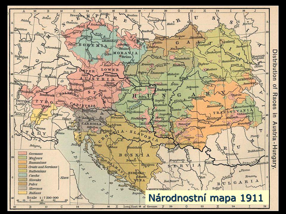 Národnostní mapa 1911
