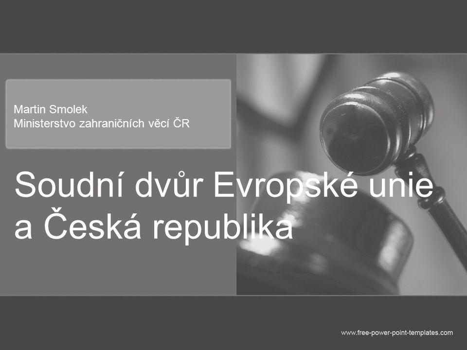 Martin Smolek Ministerstvo zahraničních věcí ČR