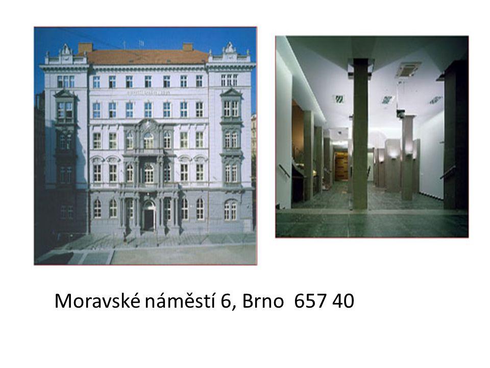Moravské náměstí 6, Brno 657 40