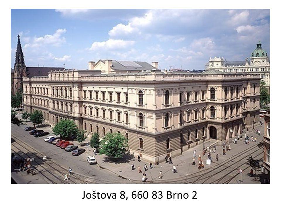 Joštova 8, 660 83 Brno 2