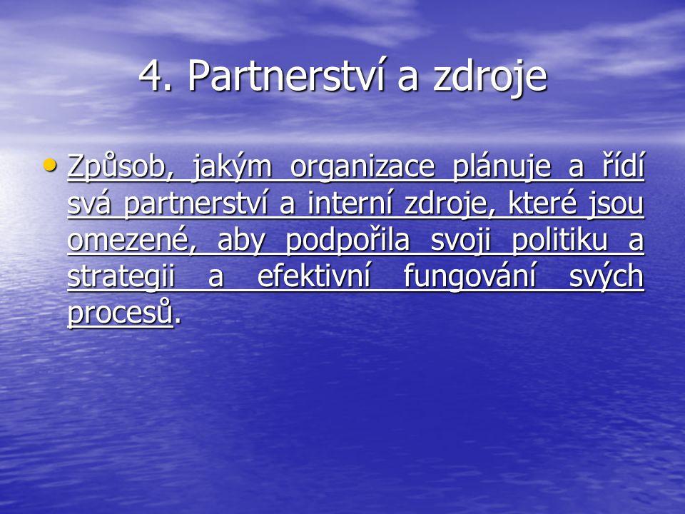 4. Partnerství a zdroje
