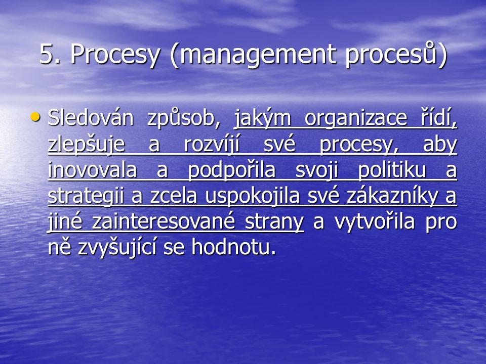 5. Procesy (management procesů)