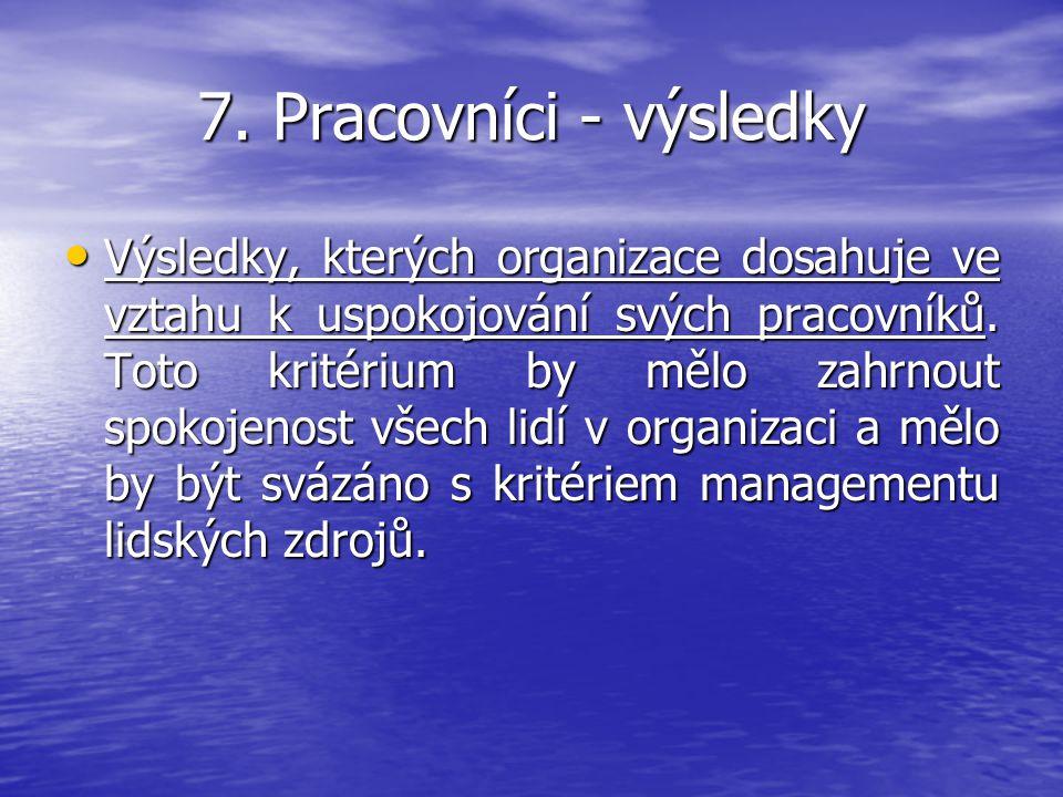 7. Pracovníci - výsledky