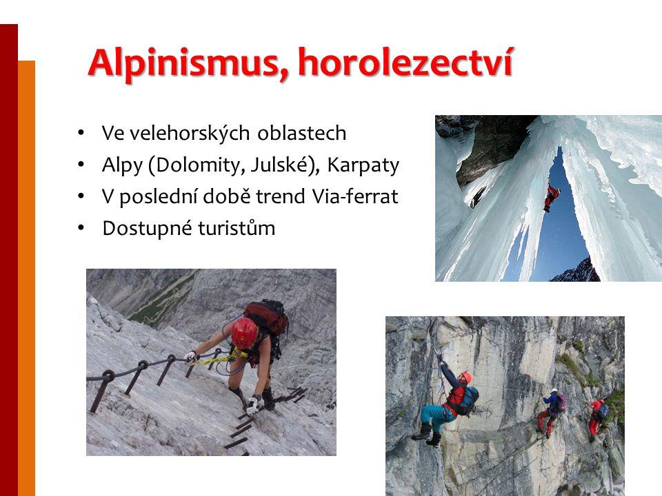Alpinismus, horolezectví