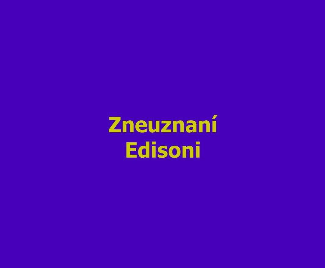 Zneuznaní Edisoni