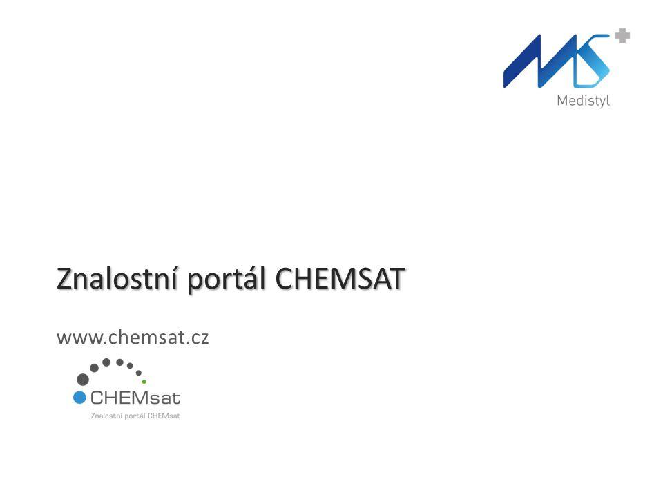 Znalostní portál CHEMSAT