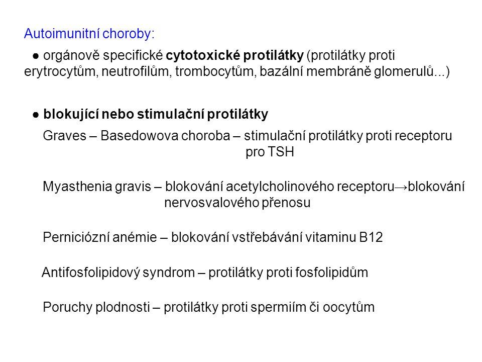 Autoimunitní choroby: