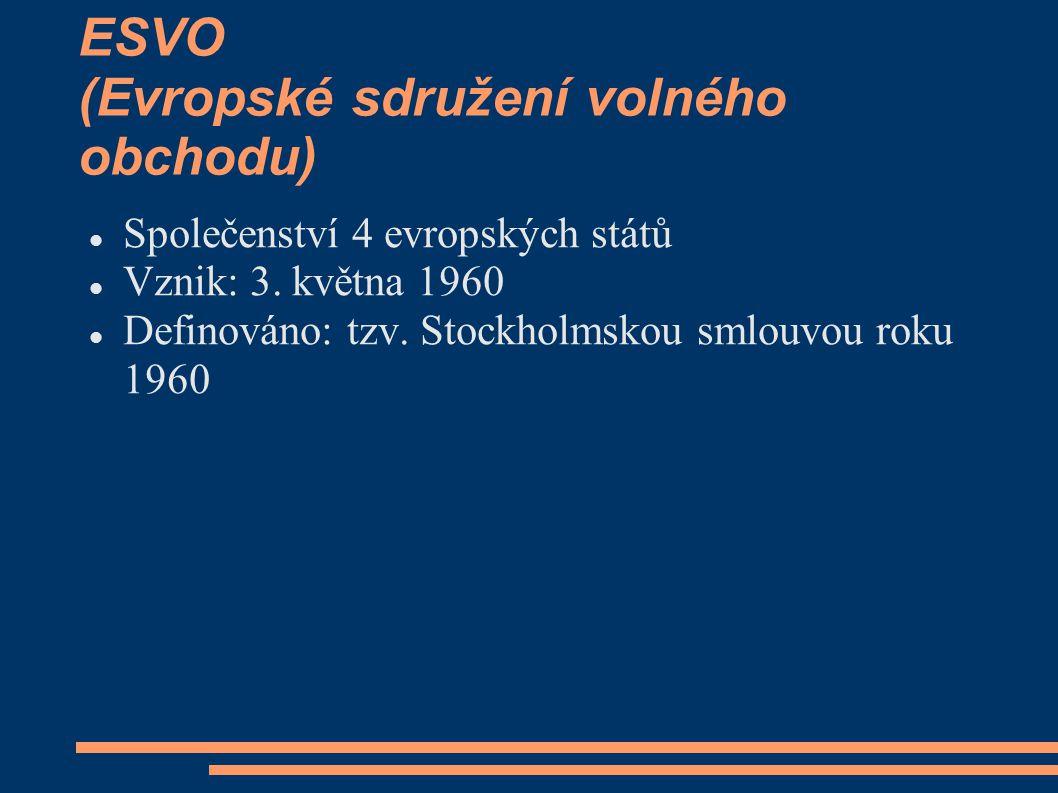 ESVO (Evropské sdružení volného obchodu)