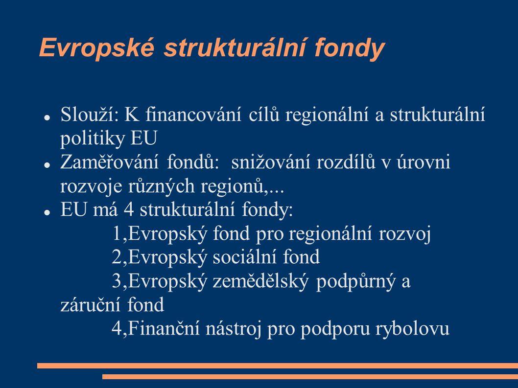 Evropské strukturální fondy