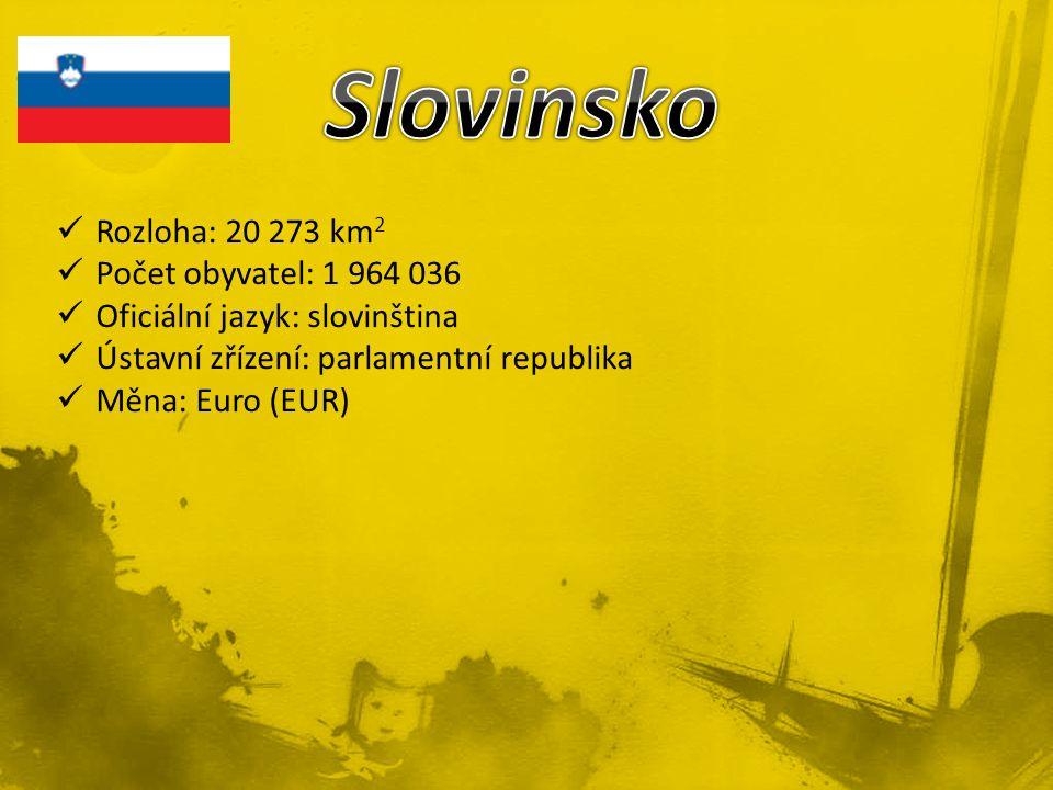 Slovinsko Rozloha: 20 273 km2 Počet obyvatel: 1 964 036
