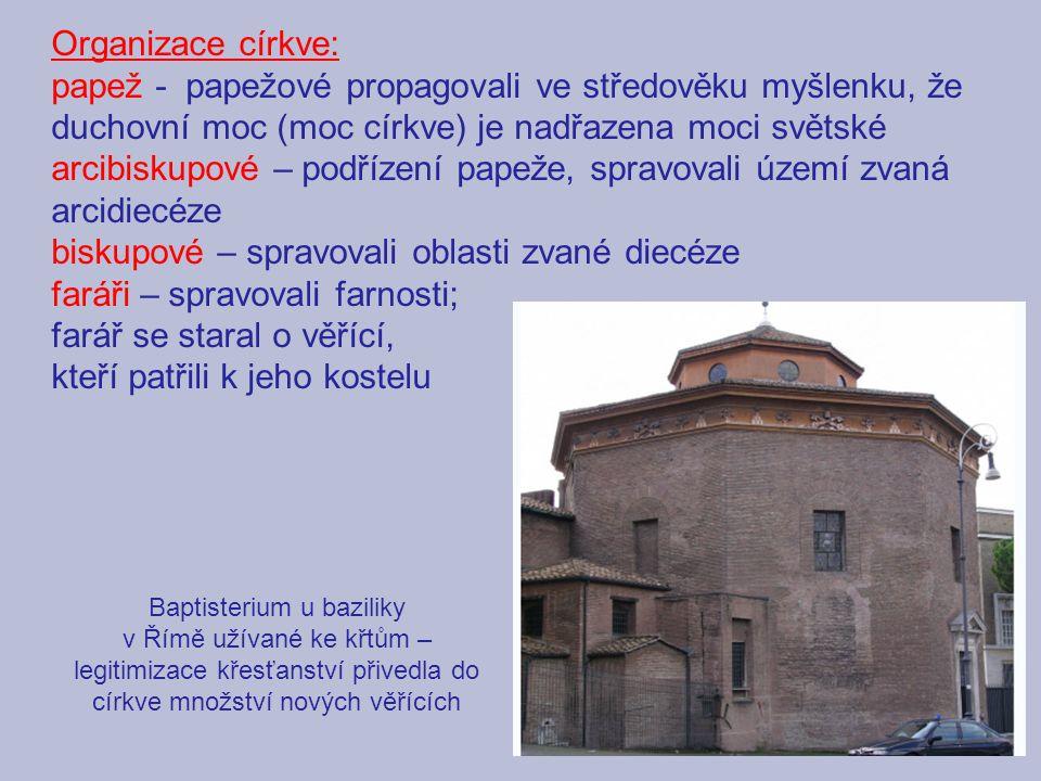 Baptisterium u baziliky