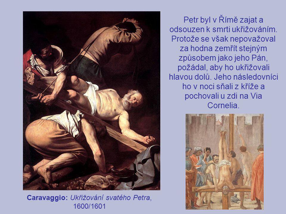 Caravaggio: Ukřižování svatého Petra, 1600/1601