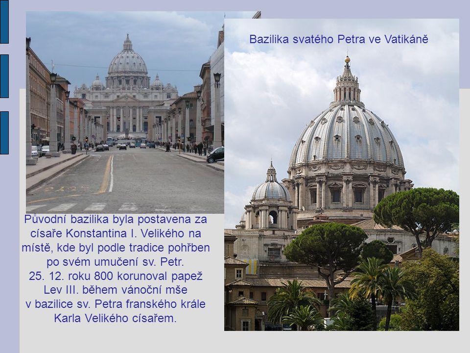 Bazilika svatého Petra ve Vatikáně
