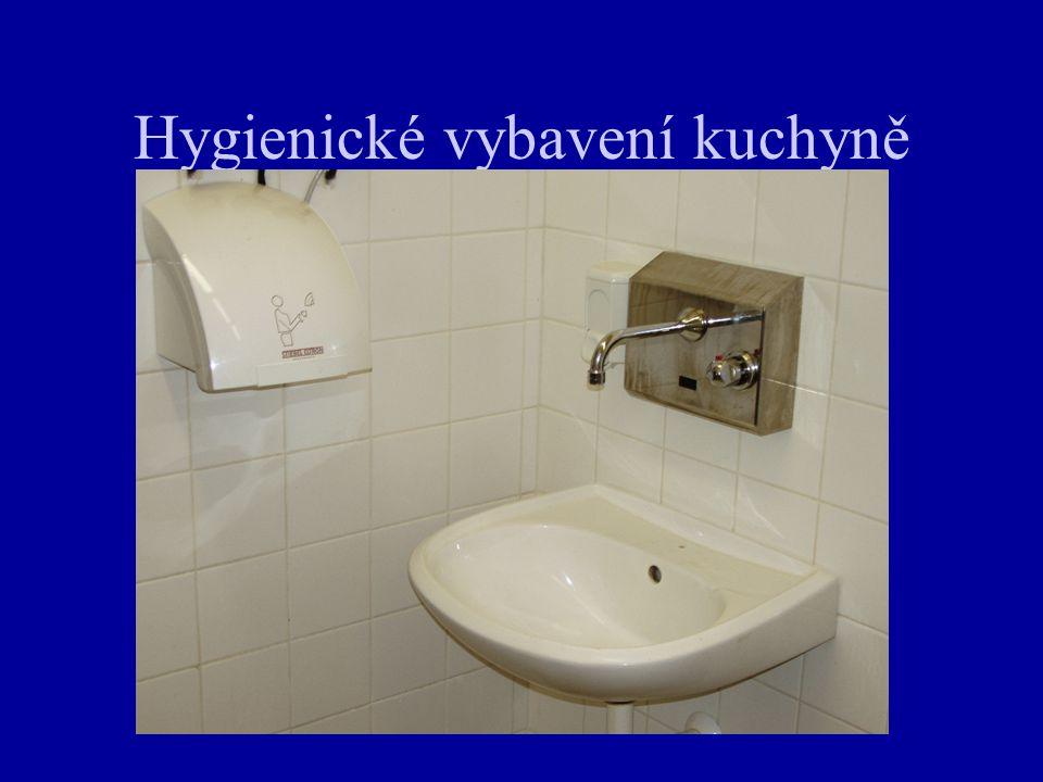 Hygienické vybavení kuchyně