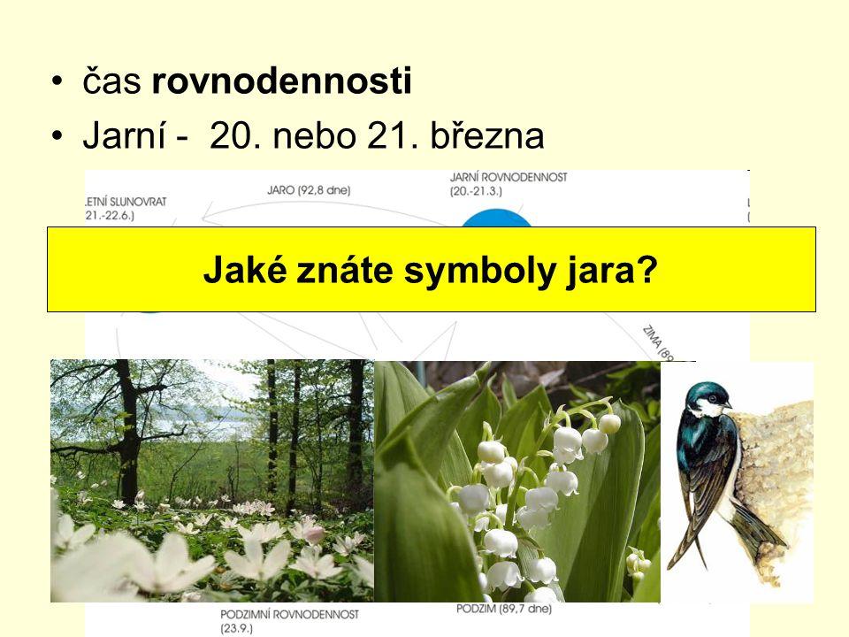 Jaké znáte symboly jara