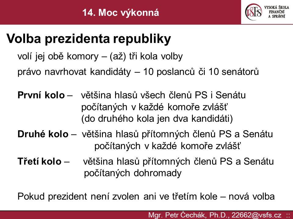 Volba prezidenta republiky