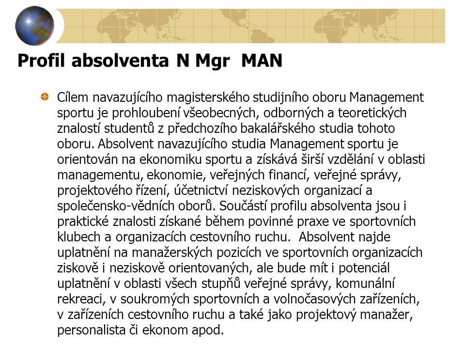Profil absolventa N Mgr MAN